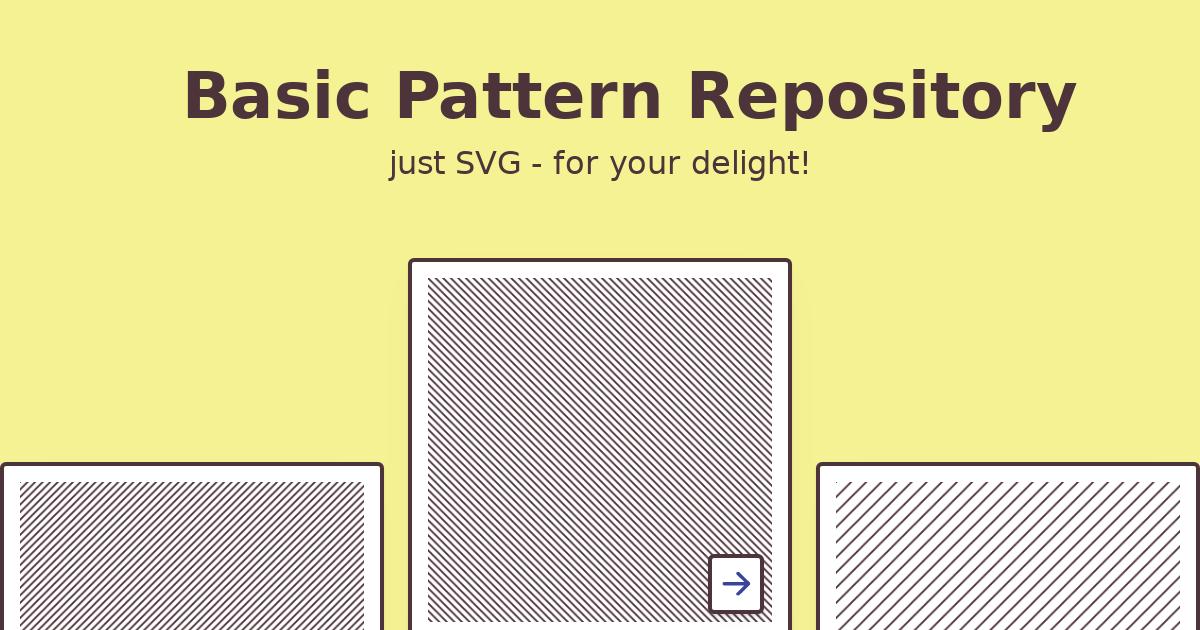 Basic Pattern Repository